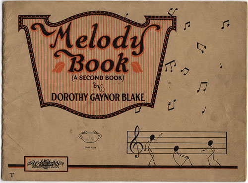Melody Book (A Second Book) by Dorothy Gaynor Blake