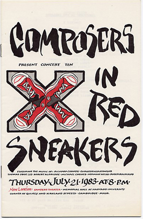 Composers in Red Sneakers Concert X