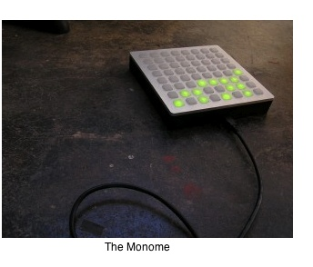 The Monome: click here to see the demo.