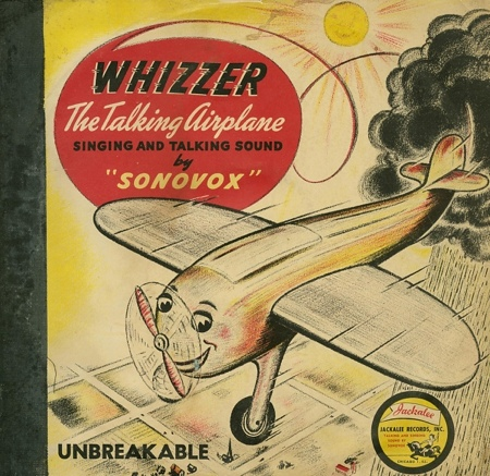 Whizzer the talking airplane