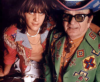 Gram Parsons and Nudie Cohen
