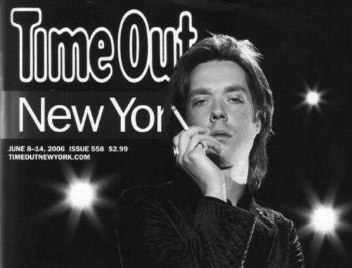 Cover of Time Out New York with Rufus Wainwright