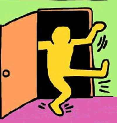 Keith Haring Coming out image