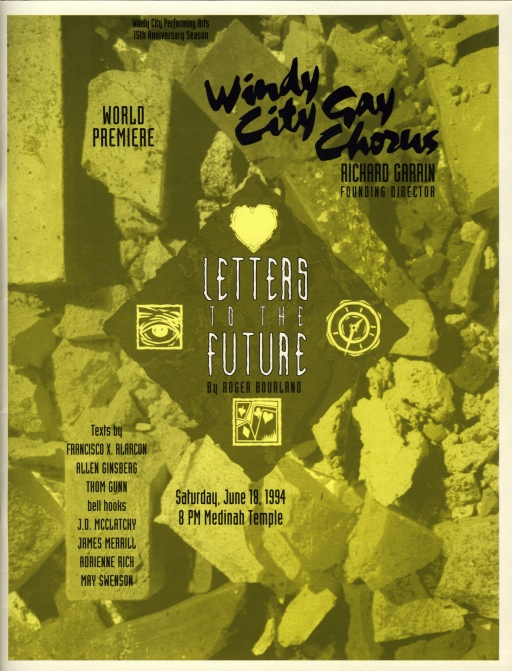 Letters to the Future program cover