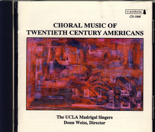 Choral Music of 20C Americans